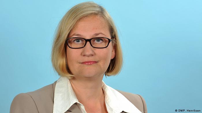 Julia Bernstorf (Foto: Per Henriksen/DW)