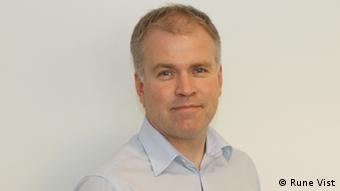 Rune Vist, Chief Sales Manager bei der Nordea Bank in Trondheim (Norwegen). Nur im Zusammenhang mit dem Interview von Andreas Sten-Ziemons zu verwenden!