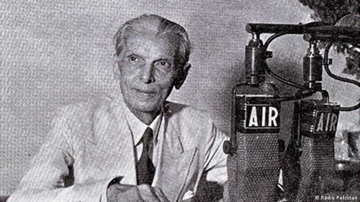 Muhammad Ali Jinnah (Photo: Radio Pakistan / DW)