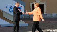 G20 Gipfel Russland Sankt Petersburg Wladimir Putin und Angela Merkel