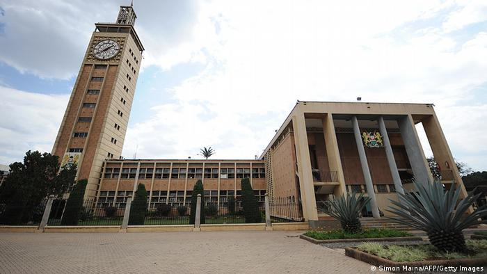 A photo taken on September 5,2013 shows the parliament buildings in Nairobi as deputies were discussing pulling out of the International Criminal Court (ICC). SIMON MAINA/AFP/Getty Images)