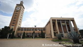 Kenia Parlament Austritt Römisches Statut