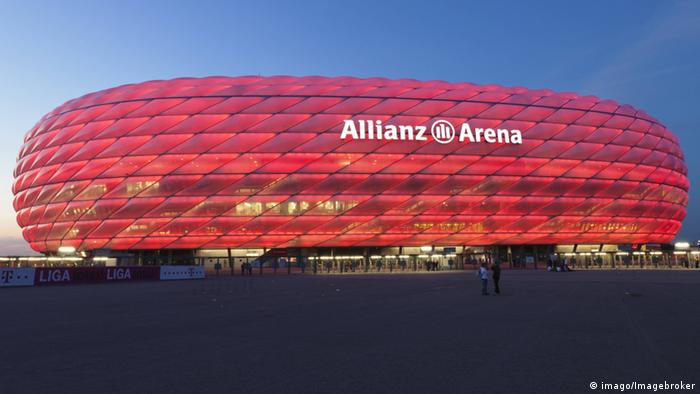 Allianz Arena München (imago/Imagebroker)