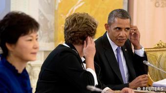 G20 Gipfel Russland Sankt Petersburg Barack Obama und Dilma Rousseff