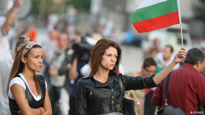 Bulgarien Sofia Antiregierungsproteste