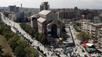 Katedralja Nënë Tereza në Prishtinë.