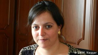 Samantha Donkin, arbeitet für IOM (Internationale Organisation für Migration in Beirut (Foto: DW/Naggar)