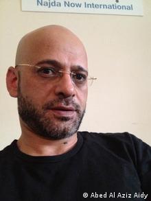 Abed Al Aziz Aidy arbeitet für die NGO Najda Now in Beirut (Foto: Abed Al Aziz Aidy)