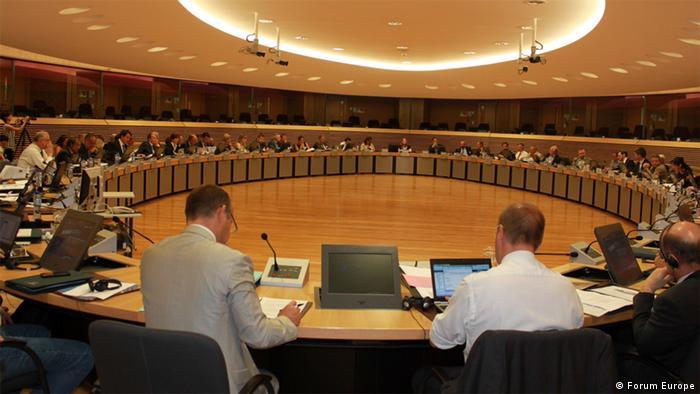 Konference: Global Risks - Satellite Answers Brussel, 5 September 2013 (Photo: Forum Europe)