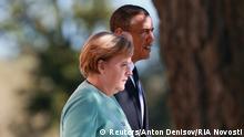 G20 Sankt Petersburg 06.09.2013 Obama und Merkel