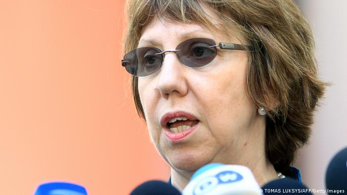 European Union High Representative for Foreign and Security Policy Catherine Ashton . Photo AFP