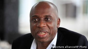 Rivers state governor Rotimi Chibuike Amaechi is one of the PDP rebels (AP Photo/Sunday Alamba)
