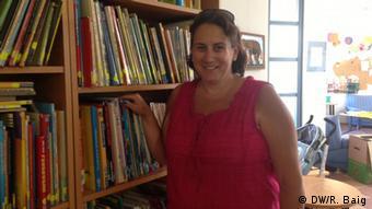 Ute Keller, Leiterin der Kindertagesstätte Weidenweg in Bonn (Foto: DW/ Rachel Baig)