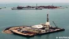 Offshore Ölfeld Kashagan