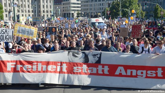 Demonstration Freiheit statt Angst für Bürgerrechte und Datenschutz