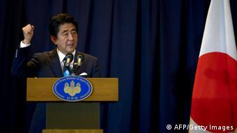 Shinzo Abe Tokio Japan Wahl Olympia 2020
