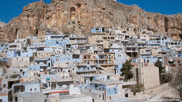 Maalula Sirija panoramski pogled