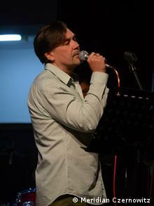 Юрій Андрухович читав вірші під музику