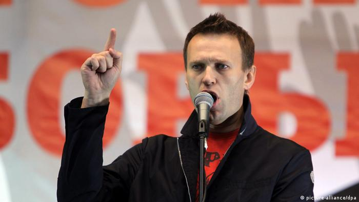 Alexei Navalny (picture-alliance/dpa)