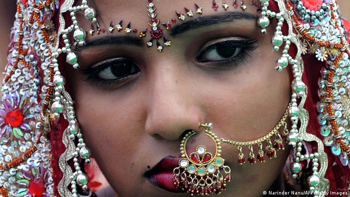 Indien Mitgift Hochzeit in Amritsar 2010 (Narinder Nanu/AFP/Getty Images)