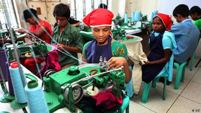 GIZ Bangladesch: Faire Arbeitsbedingungen in einer Textilfabrik