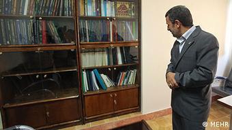 Mahmud Ahmadinedschad als Professor an der Uni in Teheran (Foto:MEHR)