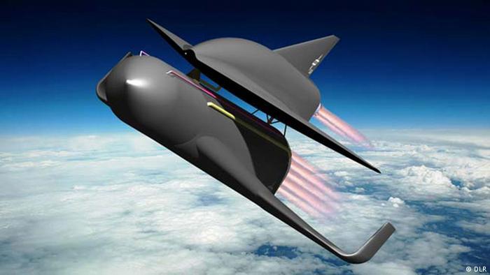 Flugzeuge der Zukunft: Space Liner