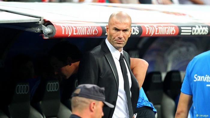 Zinedine Zidane Co Trainer Real Madrid (imago)