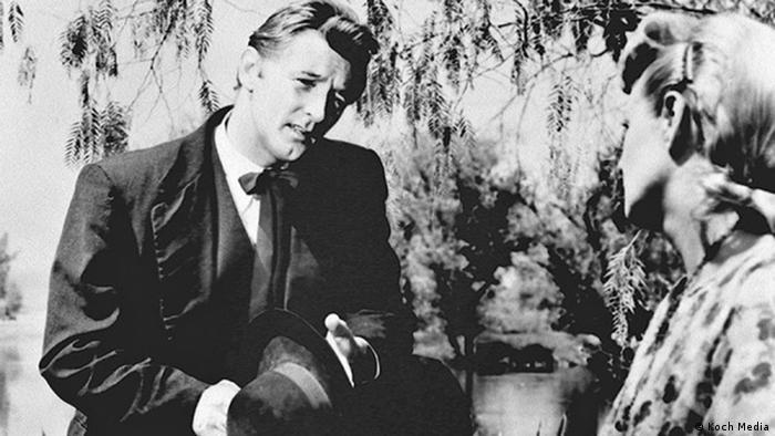 Szene aus dem Film Die Nacht des Jägers von Charles Laughton mit Robert Mitchum (Foto: koch media)