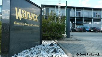 Warwick headquarters in Markneukirchen Photograph: Jens Falkowski/DW
