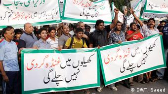 Pakistan Demonstration