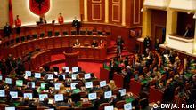 Albanien Parlament erste Sitzung