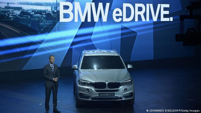 IAA Frankfurt 2013 Herbert Diess BMW Hybrid