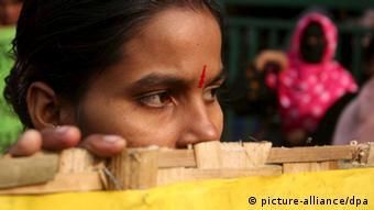 Symbolbild Asien Frauen Gewalt