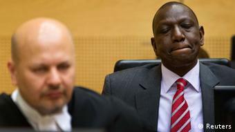 Le procès de William Ruto a déjà commencé à La Haye