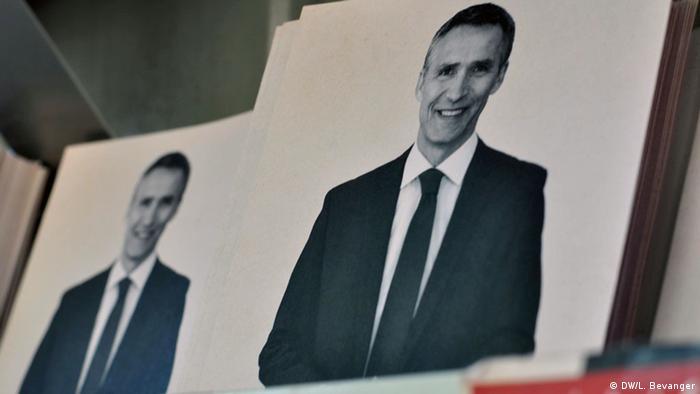 Norwegen Wahlen Stoltenberg Plakat
