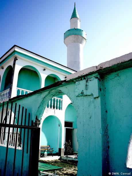 Moschee in dem Roma-Viertel in Pazardzhik in BulgarienCopyright: DW/Naomi Conrad August 2013