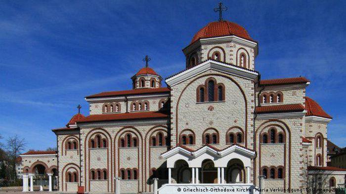 Die größte griechisch-orthodoxe Kirche Europas außerhalb Griechenlands: Maria Verkündung in Esslingen - Copyright: Griechisch-Orthodoxe Kirche Maria Verkündigung Esslingen, 2013