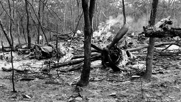 Dag Hammarskjöld Flugzeug Absturzstelle in Sambia