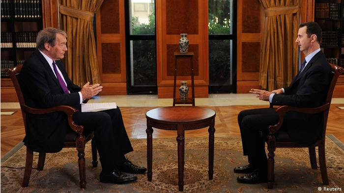 Charlie Rose interviews Assad