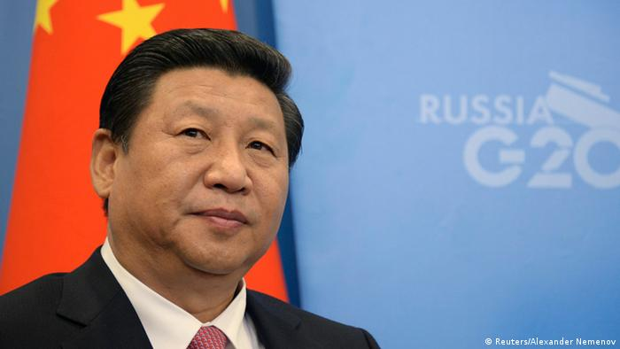 Chinese President Xi Jinping attends a meeting with his Russian counterpart Vladimir Putin at the G20 Summit in Strelna near St. Petersburg, September 5, 2013. REUTERS/Alexander Nemenov/Pool (RUSSIA - Tags: POLITICS BUSINESS)