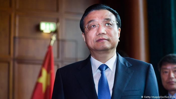 BChinesischer Premierminister Li Keqiang (Photo by Jochen Zick - Pool/Getty Images)