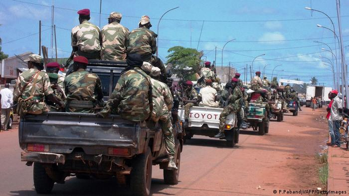 Troops in Bangui. Photo AFP