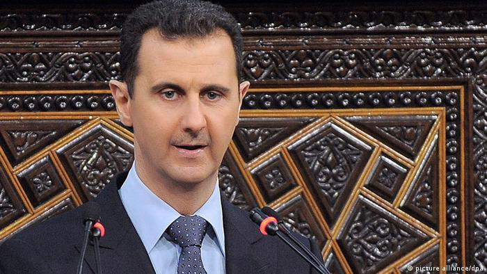 Syrien Konflikt Bashar Assad 3. Juni 2012 CLOSE (picture alliance/dpa)