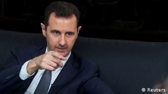 Der syrische Präsident baschar al-Assad, 2.9. 2013 (Foto: REUTERS/SANA)