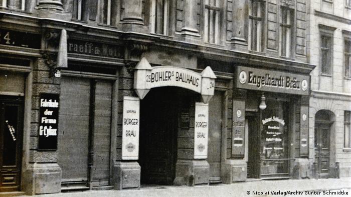 Entrance Clärchens Ballhaus, end 1920s