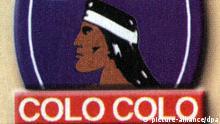 Chile Fußball Logo von Fußballklub Colo Colo