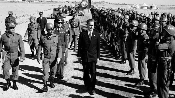 UN Generalsekretär Dag Hammarskjöld