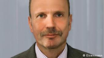 Copyright liegt bei der Firma Eisenmann. Bildunterschrift: Uwe Neumann, Senior Manager bei der Firma Eisenmann in Böblingen