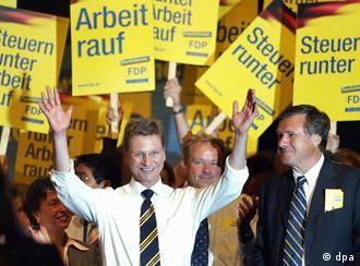 На съезде либеральной СвДП